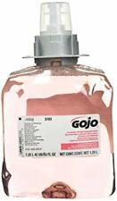 Gojo 516103CT FMX-12 Luxury Foam Hand Wash Cranberry 1250mL Refill 3 Pack Carton