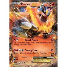 Pokemon TCG XY BREAKPOINT : EMBOAR EX 14/122