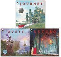 Aaron Becker Collection 3 Books Set Journey Trilogy Series Quest, Return NEW