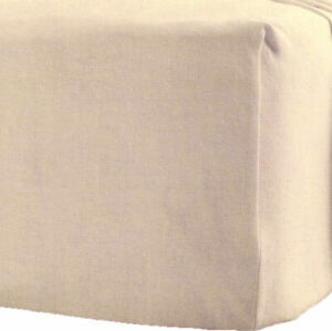 100% Brushed Cotton Flannelette 25CM Deep Fitted Sheets