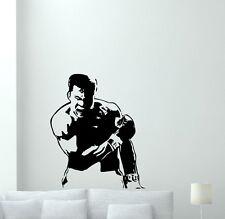 Muhammad Ali Wall Decal Boxing Vinyl Sticker Bedroom Sport Decor Gym Art 104aaa