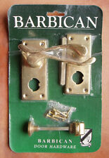 HOUSEHOLD, SOLID BRASS DOOR HARDWARE.