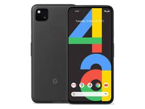 Google Pixel 4a 128GB Black ( T-mobile AT&T Verizon Unlocked) A Excellent