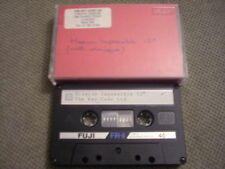 """RARE PROMO ONLY Mission Impossible 12"""" w/ dialogue CASSETTE TAPE The Key Code UK"""