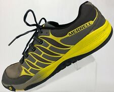 Merrell Castle - Allout Fuse Running Training Sneakers Men's 11.5 Rock/Yellow
