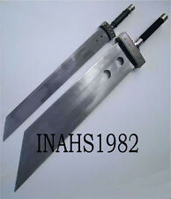 """F.F Cloud Buster Strife Sword 52"""" + 42"""" Strife Sword With Sheath and Stands"""