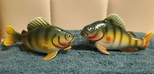 Vintage Realistic Fish Salt And Pepper Shakers  - Ucagco