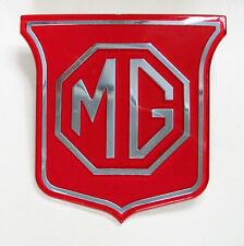 MGB & MGBGT fabrication britannique ROUGE ET ARGENT AVANT Calandre BADGE, bhh829