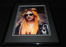 Lady Gaga in sunglasses 2011 Framed 11x14 Photo Display