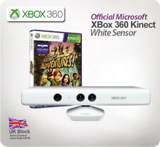 White XBox 360 Kinect Sensor - with Kinect Adventures *Very Rare!*