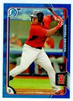 RAFAEL DEVERS 2015 Bowman Chrome BLUE Refractor Rookie Card RC /150 Red Sox
