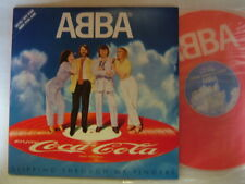 PROMO ONLY PICTURE VINYL / ABBA COCA COLA / JAPAN