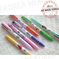 BT21 3 Color Ball Point Pen School Stationery 7types Official K-POP Authentic MD