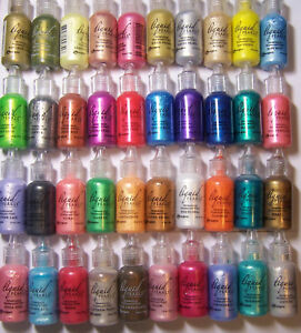 .5oz Liquid Pearls Dimensional Pearlescent Paint for Fabric & Paper U Pick Color
