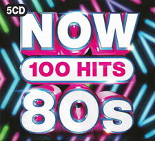 100 Greatest Hits of the EIGHTIES * New 5-CD Boxset * All Original 80's Hits