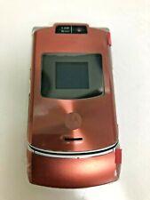 Motorola Razr V3xx - Orange   Unlocked Gsm Flip Phone Brand New