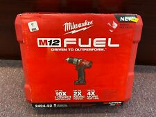 brand new in boxMilwaukee 2404-22 M12 FUEL 1/2 in. Hammer Drill/Driver Kit