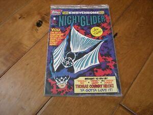 Night Glider #1 (1993) Topps Comics 'Jack Kirby Sealed w/Kirbychrome Card' NM