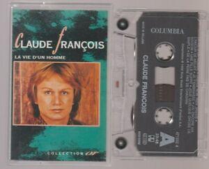 Claude François Collection Or Cassette K7 Tape Mc La Vie D'un Homme