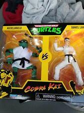 TMNT vs COBRA KAI: Michelangelo & Daniel Larusso NEW IN-HAND! Playmates neca Fig