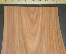 "Rosewood South American Santos wood veneer 7"" x 6"" raw no backing 1/42"" thick"
