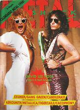 METAL SHOCK 14 1988 David Lee Roth Metallica Aerosmith Black Sabbath Tigertailz