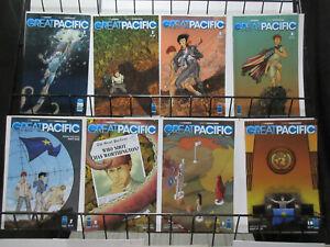 Great Pacific (Image 2012) #2, 3, 5, 6, 7, 8, 9, 10 Lot Harris Morazzo Ocean Fun
