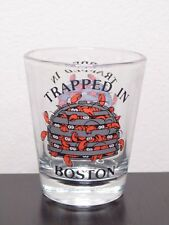 Trapped In Boston With Lobsters Shot Glass