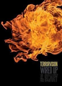 Terrorvision: Wired Up and Scary DVD (2017) Leigh Brooks cert tc ***NEW***