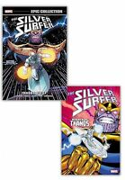 Silver Surfer Epic Collection Rebirth Of Thanos, Thanos Quest 2 Books Set NEW