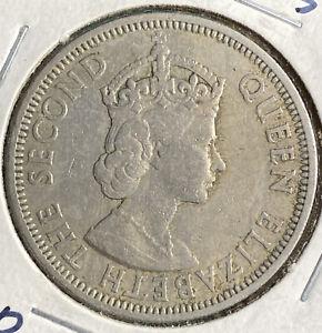 1960 Seychelles 1 Rupee ~ Copper Nickel ~ Free Shipping!