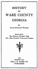 Genealogy & History of Ware County Georgia GA
