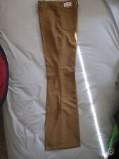 "70s Womans Collectors H Bar C Ranchwear 28"" wst Western Bell Bottoms Khaki Pants"