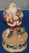 Willitts Santa Clause Musical Statuette 1986