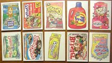 Wacky Packages ANS2 series 2 tattoo tattoos set