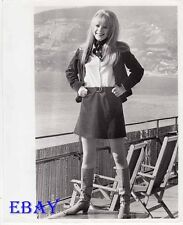 Marianne Faithfull sexy VINTAGE Ph candid 1967 in San Remo Song Festival, Italy