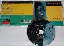 Randy Crawford CD SINGLE Forget me deviennent (remixé)