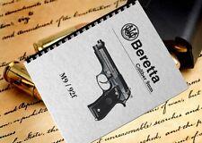 70 page BERETTA M9 92F Pistol Owners Operators Field Service Training Manual