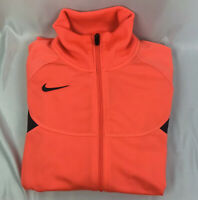 Nike Women's Full zip Size Small Color Orange w/ Black Trim Athletic Jacket