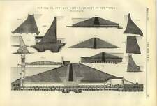 1887 típica albañilería terraplenado presas revista y repitiendo brazos