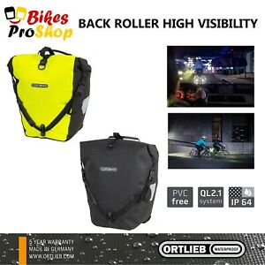 ORTLIEB Back Roller HIGH VISIBILITY (Single) - Bike Bicycle Pannier Bag GER.2021