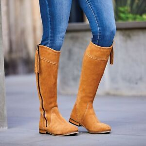 Dublin Kalmar Suede Tall Boots Riding Walking Fashion Country Boots SALE