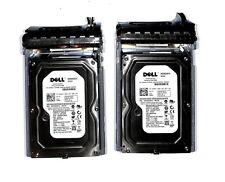 "lot 2x Dell H962F 250GB 16MB 3.0Gbps 7.2K 3.5"" SATA Hard Drive for Poweredge"
