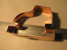 "Kitchen Collectible Skate Copper Cookie Cutter New ~3.5""x4.75"" 1.25"" (42)"