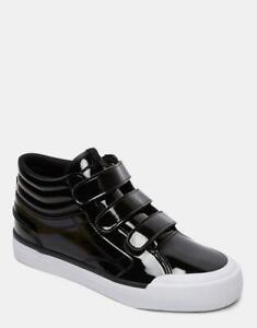 DC SHOES Womens 5 EVAN HIGH TOP V SE Skate Shoes - ADYJS300200 Black Rrp $99.99