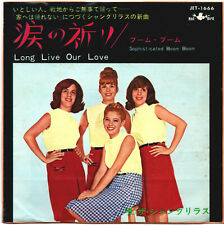 THE SHANGRI-LAS - LONG LIVE OUR LOVE - VERY RARE! JAPAN RED BIRD 45' Vinyl PS