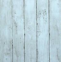 Blue Wood Wallpaper Contact Paper Self Adhesive Decorative Wall Covering Rolls