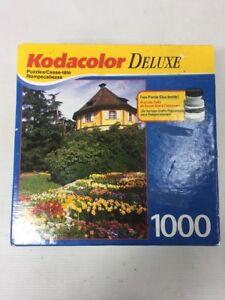 KODACOLOR Deluxe Mainau Island 1000 Piece Jigsaw Puzzle 18 x 26 No. 21008 NEW