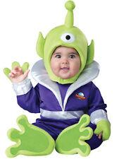 Mini Martian Toddler Costume Baby Alien Monster Mars Jumpsuit Unisex Halloween