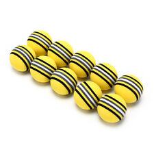 10Pcs Rainbow Stripe foam Sponge Golf Balls Swing Practice Training Aids_K